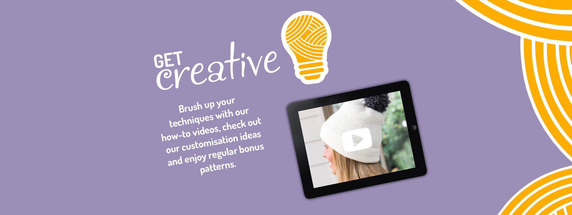 Get Creative - Brush up your techniques with our how-to video