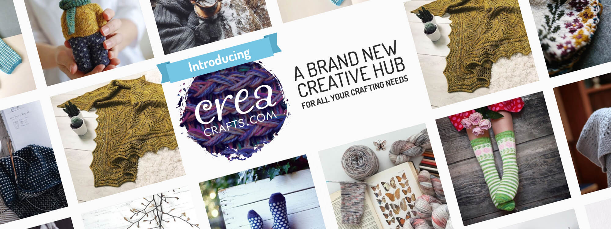 Introducing creacrafts.com - A brand new creative hub for all your craft